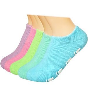 Custom Kids Non Skid Socks Cotton Fuzzy Gripper Socks