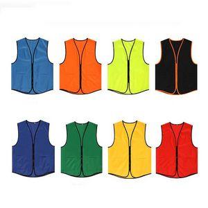 Custom Unisex Uniform Volunteer Work Vest