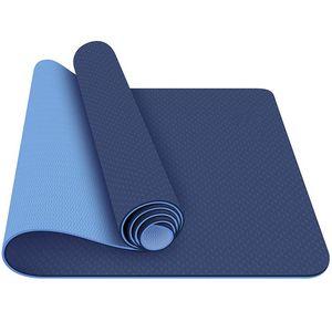Custom TPE Textured Non Slip Yoga Mat High Quality