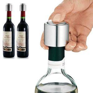 Custom Stainless Steel Vacuum Wine Stoppers
