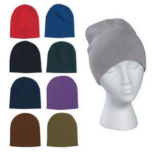 Custom Warm Knit Beanie Hat