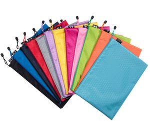 A4 Zipper File Bag Office Document Bags
