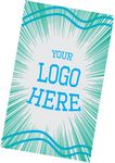 11 x 18 Microfiber Flat Front Sublimated Towel