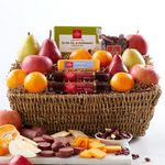 Custom Hickory Farms Orchard's Bounty Gift Basket