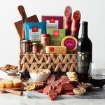 Custom Charcuterie & Wine Gift Basket