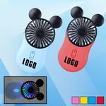 Custom Rechargeable Handheld Mouse Shaped Fan