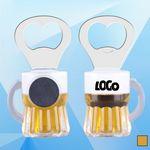 3 1/2'' Magnetic Beer Mug Bottle Opener