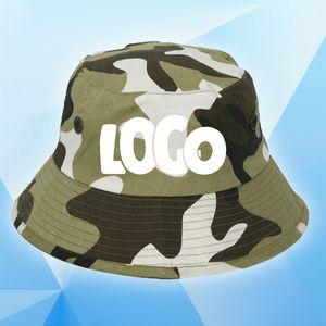 Custom Printed Camouflage Bucket Caps