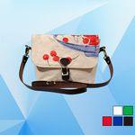 Custom Flap Messenger Shoulder Bag