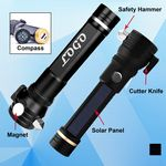 Custom Multi-function Rechargeable Flashlight w/ Compass