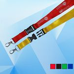 Breakaway Lanyard with Metal Clip