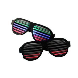 LED Shutter Shades Sunglasses