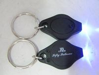 Diamond LED light key chain