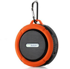 C6 Waterproof Wireless Speaker w/Carabiner
