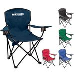 Custom Beach Camping Chair with Double Cup Holders