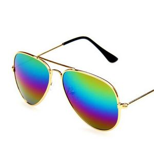 Colorful Metal Sunglasses