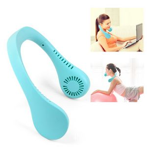 Portable Hanging Neckband Electric Fan