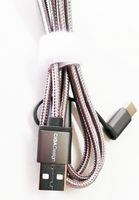 Nylon Braided 2 in 1 Charging Cable