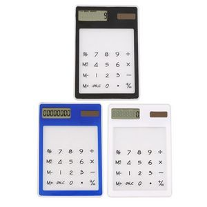 Solar Transparent Touch Calculator
