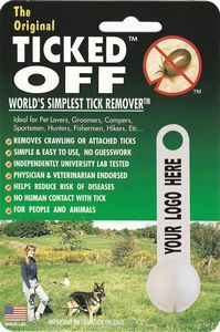 TICKED OFF worlds simplest tick remover