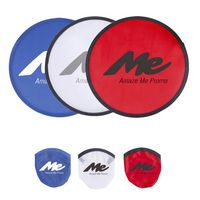 "10"" Foldable Flying Disc With Pouch"