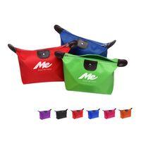 Dumpling Shape Waterproof Cosmetic Bag