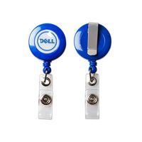 Full Color Round Retractable Reel Holder