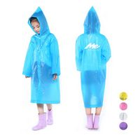 EVA Non-disposable Kids Raincoat