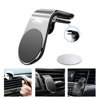 L-Shape Magnetic Car Vent Phone Holder