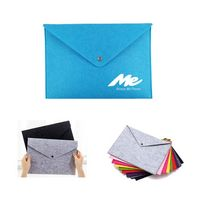 A4 Felt Document File Bag