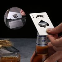 Stainless Steel Poker Shape Bottle Opener