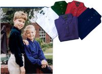 Tiger Hill Youth Long Sleeve Cotton Polo
