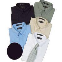Tiger Hill Men's Poly/Cotton Short Sleeve Shirt