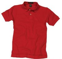 Tiger Hill Youth 100% Cotton Short Sleeve Cotton Polo