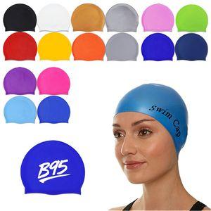 Latex Silicone Swim Cap