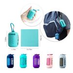Portable Quick Dry Towel with Silicone Case