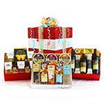 Custom Gourmet Celebration Pack Gift Set w/Wine & Cheese