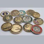 Custom Die Struck Solid Brass Coin (2