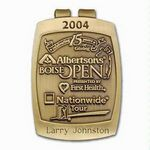 Custom Money Clip Brass w/ Antique Nickel Plated