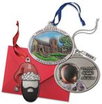 Custom Custom Pewter Full Size 3D Gallery Print Ornament w/3D IMC Express