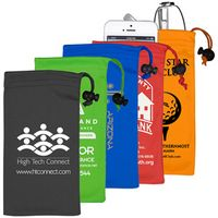 """Clean-n-Carry"" Drawstring Pouch for Cell Phones & More (Overseas)"