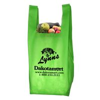 """""""Caveat"""" Everyday Lightweight T-Shirt Style Grocery Shopping Tote Bag"""