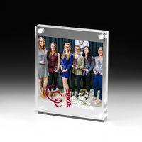 "Clear Acrylic Entrapment Frame - Screen Print (5 3/4""x7"")"