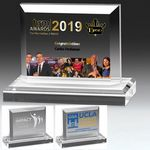 Custom Mini Billboard Acrylic Award - Screen Printed (6 1/2