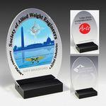 Custom Freedom Acrylic Award - 4 Color Process (4 1/2