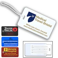 """Thunderbolt Spot"" ID Slip-In Pocket Luggage Bag Tag (Spot Color)"