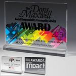 Custom Mini Billboard Acrylic Award (7