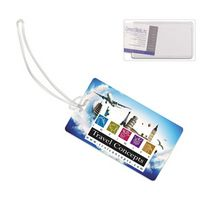 """Thunderbolt Pl"" ID Slip-In Pocket Luggage Bag Tag (PhotoImage"