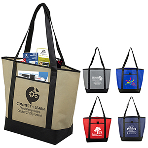 The City Life Beach, Corporate & Travel Boat Tote Bag