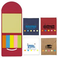 """""""Rocklin"""" Recycled Sticky Notes and Flag Booklet (Overseas)"""